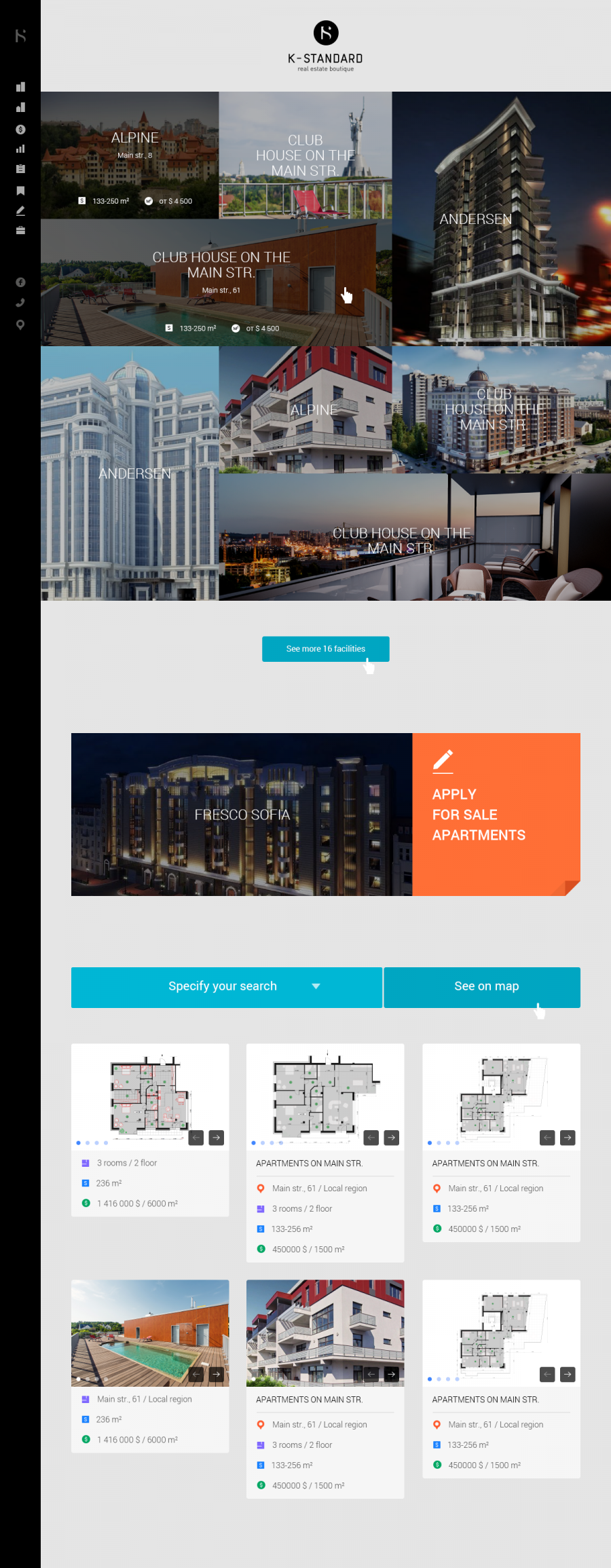 Web design realty